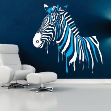 Stenska nalepka Zebra