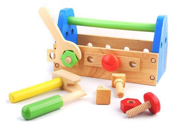 Otroški kovček z orodjem